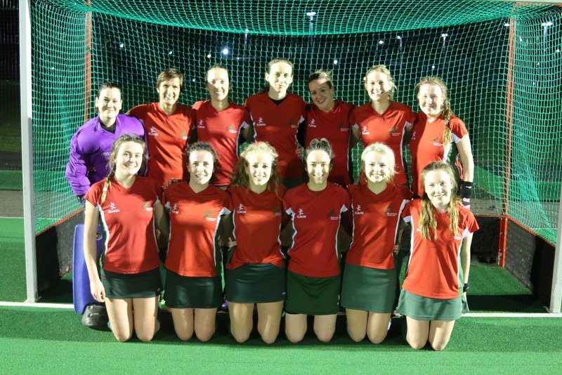 Ladies 1s Team Photo