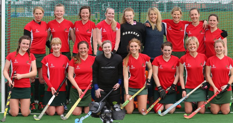 Ladies 2s Joint Team Photo