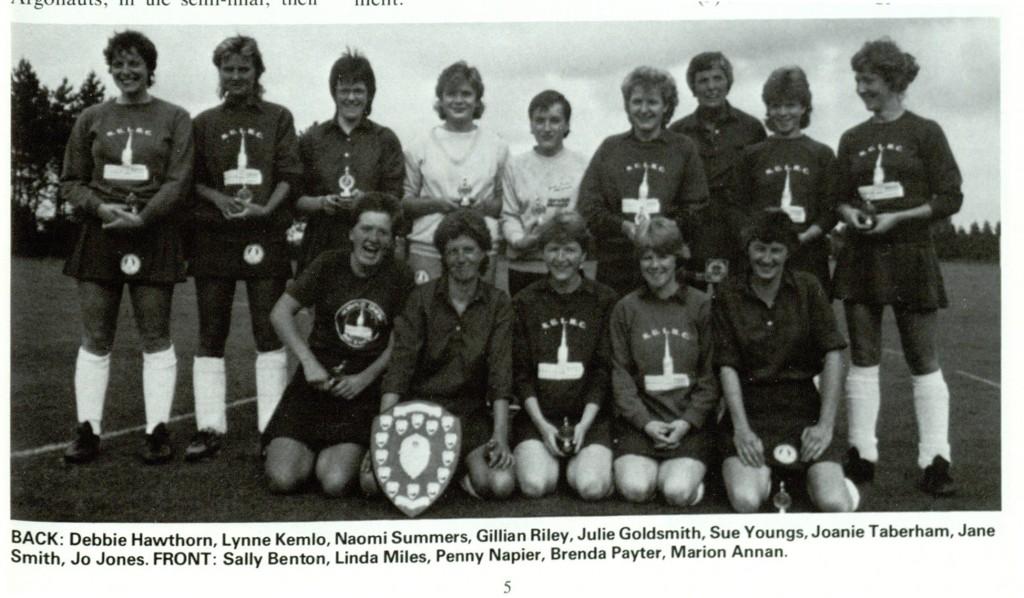 NU Ladies 1986