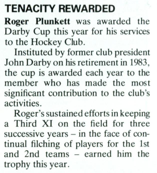NU Magazine Autumn 1986 Darby Cup 1