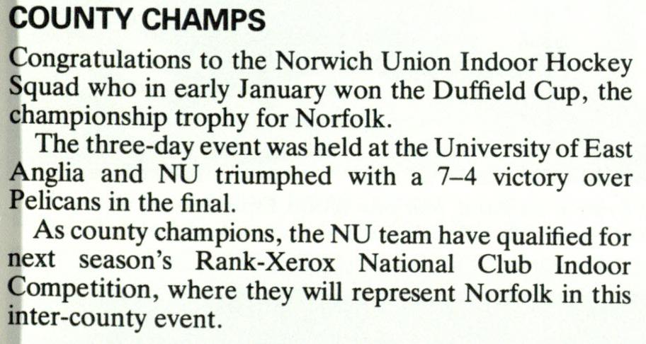 NU Magazine Spring 1983 Text