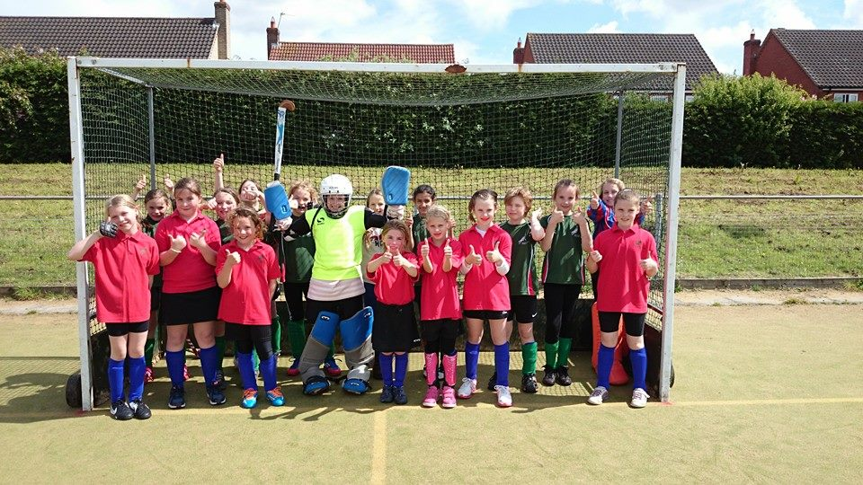 under 10 girls a and b