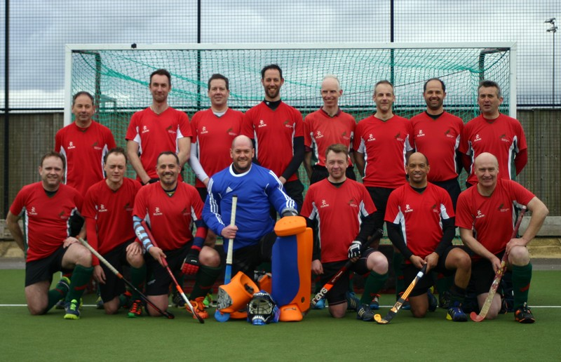 Men's Masters over 40s Semi Final Squad 2015-16